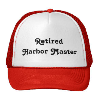 Retired Harbor Master Cap