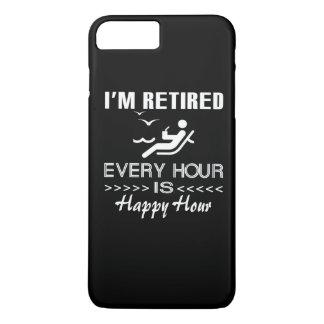 Retired is happy iPhone 7 plus case