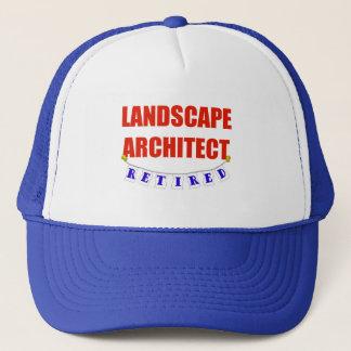 RETIRED LANDSCAPE ARCHITECT TRUCKER HAT
