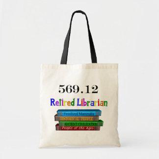 Retired Librarian 569.0 (Dewey Decimal System) Bag