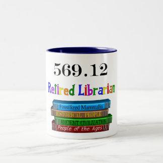 Retired Librarian 569 0 Dewey Decimal System Mug