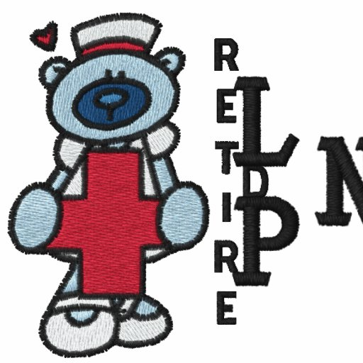 Retired LPN Embroidered Shirt
