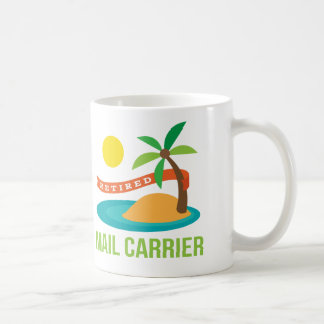 Retired Mail Carrier Gift Coffee Mugs