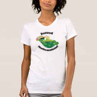 Retired Mathematician (Turtle) T-Shirt