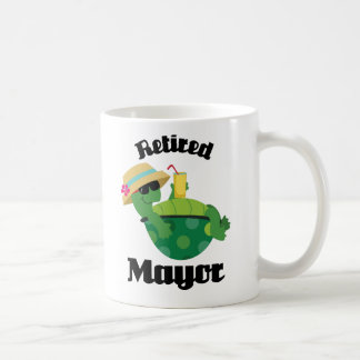 Retired Mayor Gift Coffee Mug
