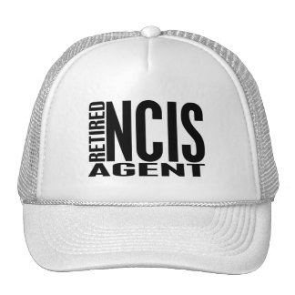 Retired NCIS Agent Hats