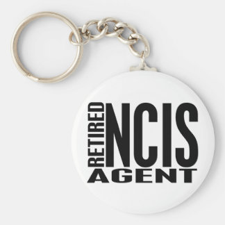 Retired NCIS Agent Keychain