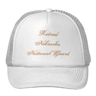 Retired Nebraska National Guard Cap