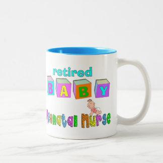 Retired Neonatal Nurse Gifts Two-Tone Coffee Mug