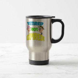 Retired Not Expired Travel Mug