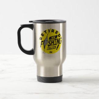 RETIRED. NOW FISHING FULLTIME! Travel S.Steel Mug