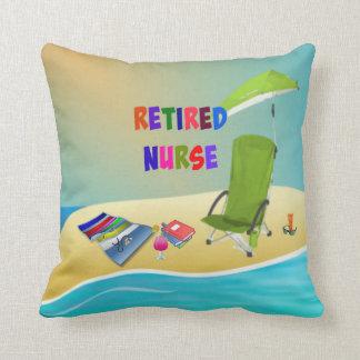 Retired Nurse, Fun in the Sun Cushion