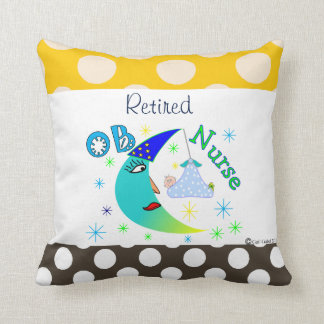 Retired OB Nurse Cushion