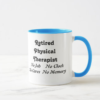 Retired Physical Therapist Mug