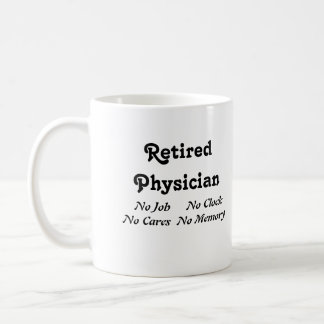 Retired Physician Coffee Mug