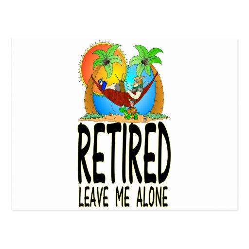 Retired Postcards