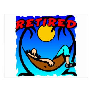 Retired Postcard