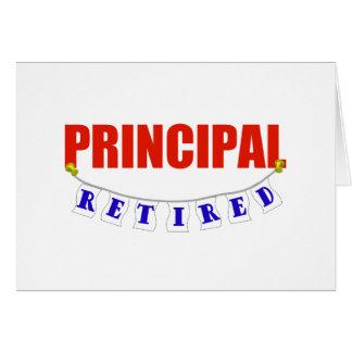 RETIRED PRINCIPAL CARD