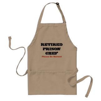 Retired Prison Chef Standard Apron