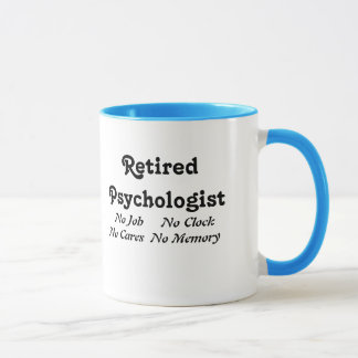 Retired Psychologist Mug