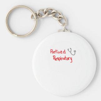 RETIRED RESPIRATORY THERAPIST KEY CHAINS