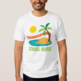 Retired School Nurse Beach Tees