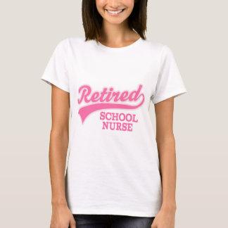 Retired School Nurse Gift T-Shirt