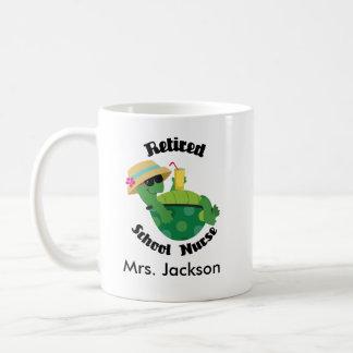 Retired School Nurse Personalised Mug