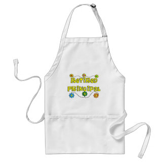 Retired School Principal Gifts Aprons