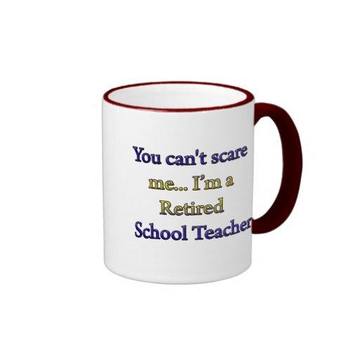 RETIRED SCHOOL TEACHER MUG