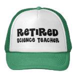 Retired Science Teacher Gift Hat