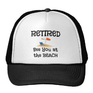 Retired--See You at the Beach Cap