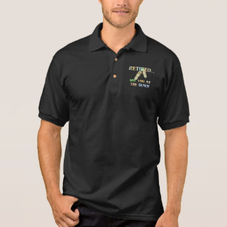Retired - See You at the Beach Polo Shirt