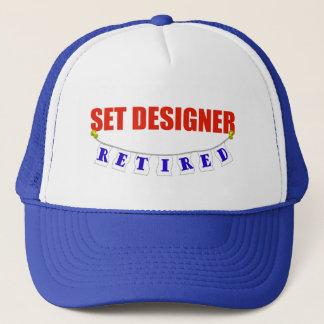 RETIRED SET DESIGNER TRUCKER HAT