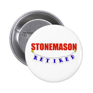 RETIRED STONEMASON PINS