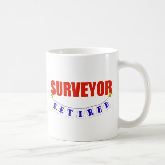 RETIRED SURVEYOR COFFEE MUG
