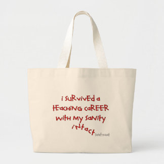 Retired Teacher Gifts, Hilarious Sayings Canvas Bag