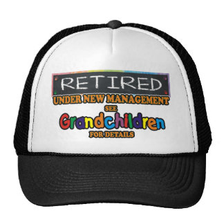 Retired Under New Management Cap