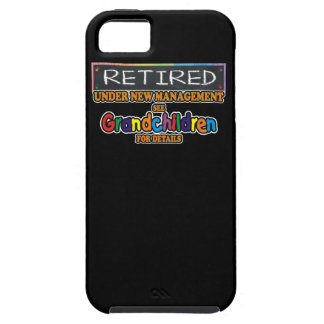 Retired Under New Management Tough iPhone 5 Case