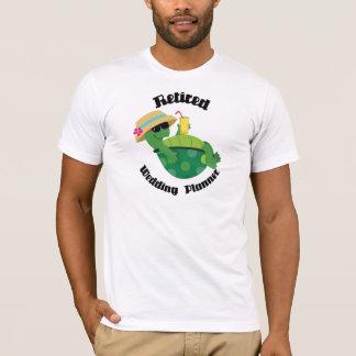 Retired Wedding Planner (Turtle) T-Shirt