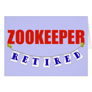 Retired Zookeeper Card