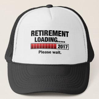 Retirement 2017 Loading Trucker Hat