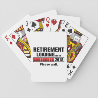 Retirement 2018 Loading Playing Cards
