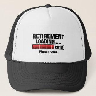 Retirement 2018 Loading Trucker Hat