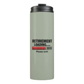 Retirement 2019 Loading Thermal Tumbler