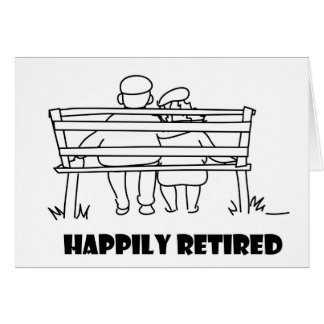 Retirement accessoried greeting card