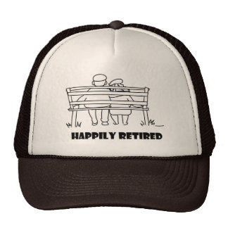 Retirement accessoried hats