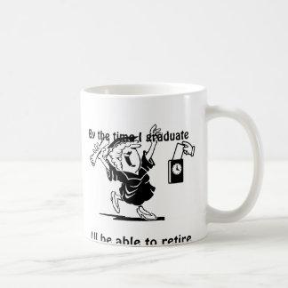 Retirement and Graduate mug