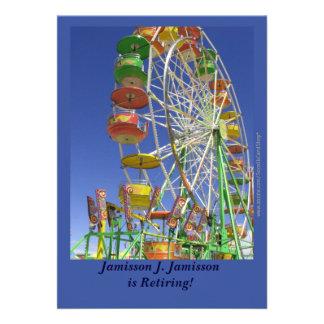 Retirement Announcement, Ferris Wheel