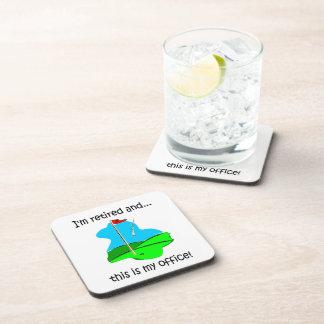 retirement beverage coaster